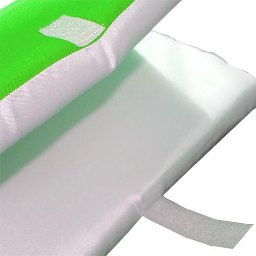 Szublimálható Két-színű ülés huzat - zöld