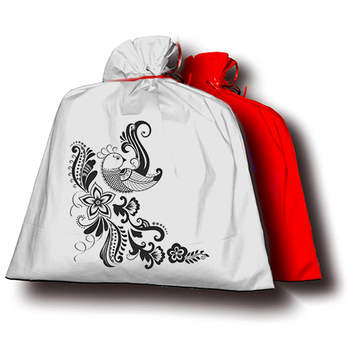 Szublimálható Kétszínű ajándék mini tasak