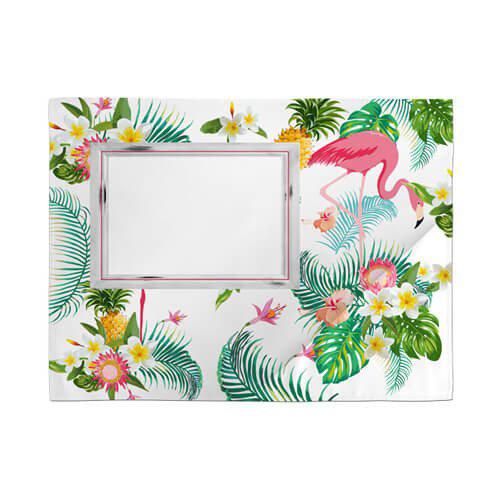 Szublimálható szatén asztalterítő mat - Flamingó