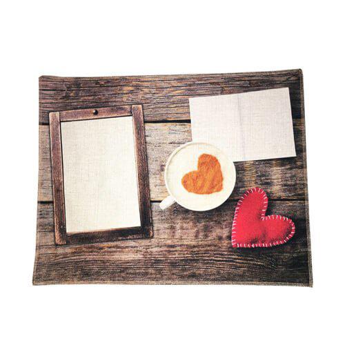 Szublimálható vászon asztalterítő mat - Szerelem