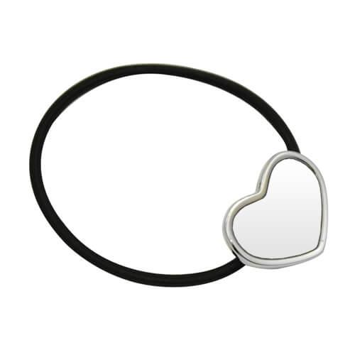 Hajgumi szív alakú szublimációs felülettel