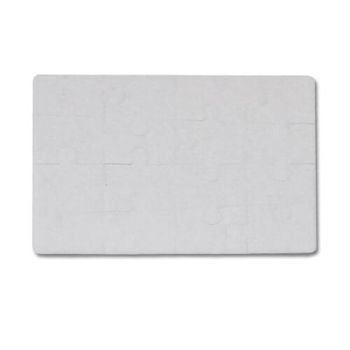 20 x 15 cm-es, 16 darabos filc puzzle szublimáláshoz, préseléshez