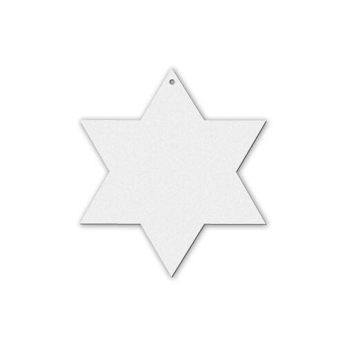 Csillag alakú filc dísz szublimáláshoz, préseléshez