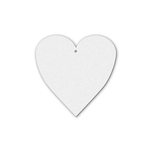 Szív alakú filc dísz szublimáláshoz, préseléshez