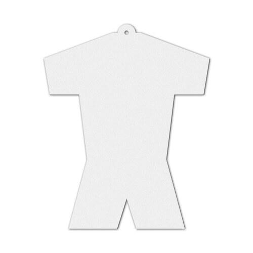 Sportmez alakú filc dísz szublimáláshoz, préseléshez