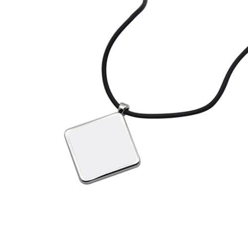 Gyémánt alakú medál szublimáláshoz, préseléshez