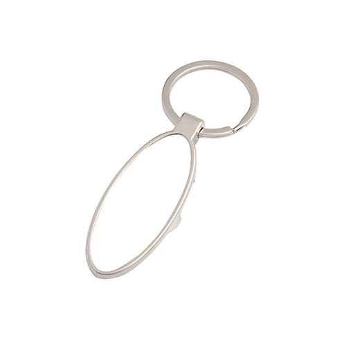 Szublimálható fém kulcstartó - sörnyitó - ovális