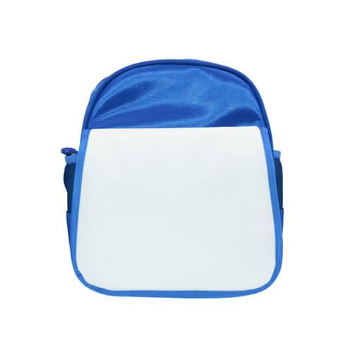 Kék gyerek hátizsák hátizsák szublimáláshoz, préseléshez