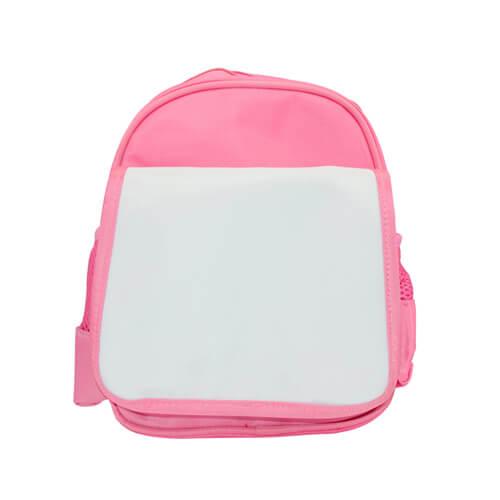 Rózsaszín gyerek hátizsák hátizsák szublimáláshoz, préseléshez