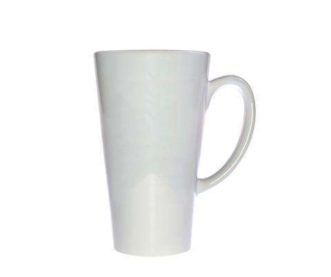 Nagy ECO latte bögre, fehér, szublimáláshoz, préseléshez