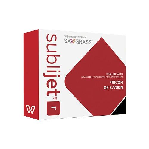 FEKETE zselés tinta, Sawgrass SubliJet-R, 68 ml Ricoh GX E7700N nyomtatóhoz