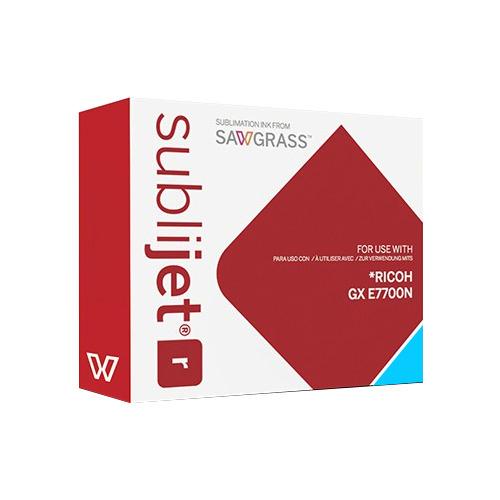 CIÁN zselés tinta, Sawgrass SubliJet-R, 60 ml Ricoh GX E7700N nyomtatóhoz
