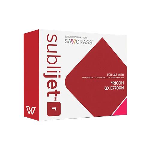 MAGENTA zselés tinta, Sawgrass SubliJet-R, 60 ml Ricoh GX E7700N nyomtatóhoz