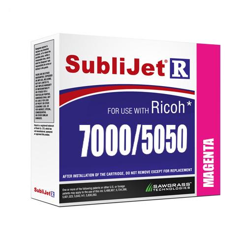 MAGENTA zselés tinta, Sawgrass SubliJet-R, 60 ml Ricoh GX7000 / GX5050 nyomtatóhoz