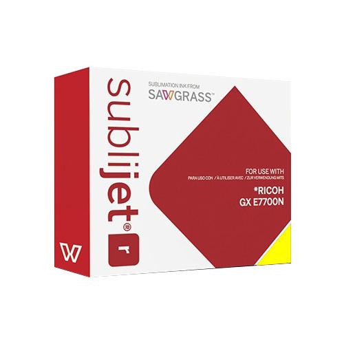 SÁRGA zselés tinta, Sawgrass SubliJet-R, 60 ml Ricoh GX E7700N nyomtatóhoz