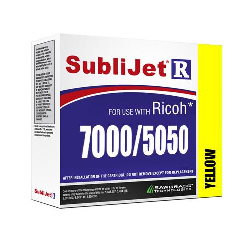 SÁRGA zselés tinta, Sawgrass SubliJet-R, 60 ml Ricoh GX7000 / GX5050 nyomtatóhoz