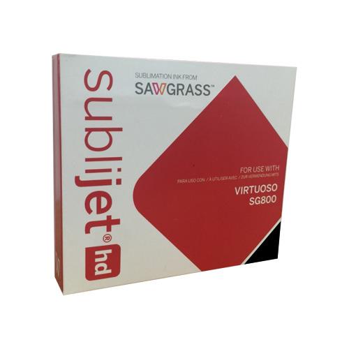 FEKETE Sawgrass zselés tinta Virtuoso SG400 / SG800 nyomtatóhoz, SubliJet-HD, 42 ml