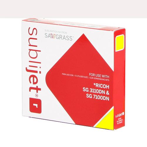 SÁRGA zselés tinta, Sawgrass SubliJet-R, 68 ml Ricoh SG7100DN nyomtatóhoz