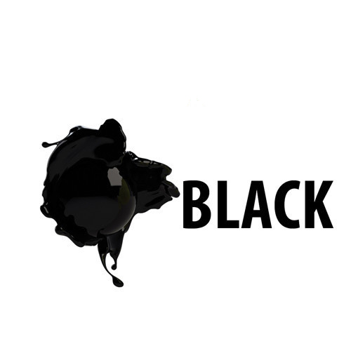 Prim Jet Color szublimációs tinta - fekete, 1000 ml