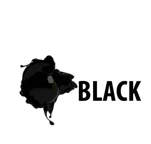 Szublimációs tinta, Best Sub HQ - fekete, 1000 ml, szublimáláshoz, préseléshez