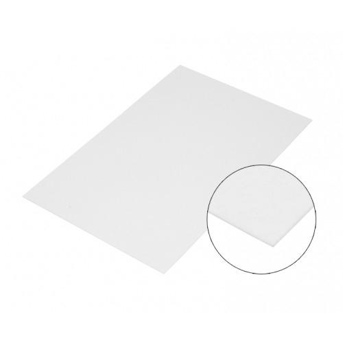 30 x 40 cm-es fehér acéllap, szublimáláshoz, préseléshez