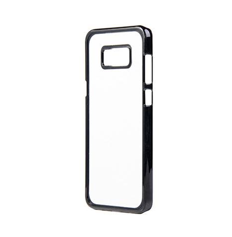 Samsung Galaxy S8 Plus fekete műanyag tok szublimáláshoz, préseléshez