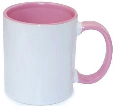 330 ml-es rózsaszín JS Coating FUNNY bögre, szublimáláshoz, préseléshez