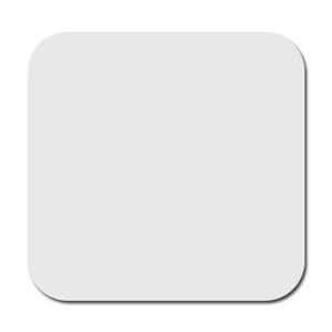 Szögletes karton és parafa alátét (6 db-os csomag) szublimáláshoz, préseléshez