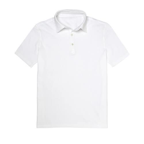 Fehér galléros póló, S-es, szublimáláshoz, préseléshez