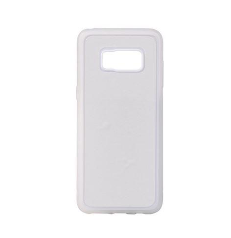 Samsung Galaxy S8 Plus fehér gumi tok szublimáláshoz, préseléshez