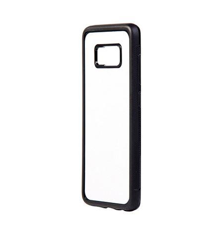 Samsung Galaxy S8 Plus fekete gumi tok szublimáláshoz, préseléshez