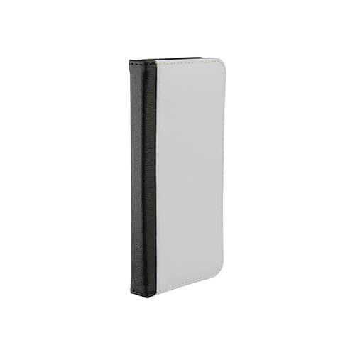 Samsung Galaxy S8 Plus fekete eco bőr tok szublimáláshoz, préseléshez