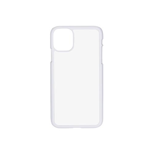Szublimálható iPhone 11 műanyag tok - fekete