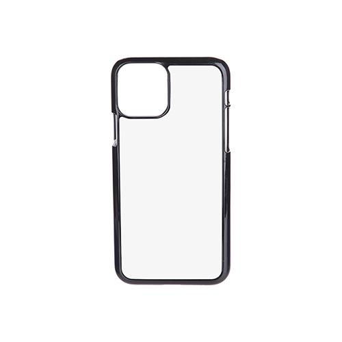 Szublimálható iPhone 11 Pro műanyag tok - fekete