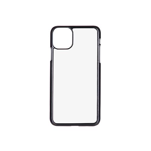 Szublimálható iPhone 11 Pro Max műanyg tok - fekete
