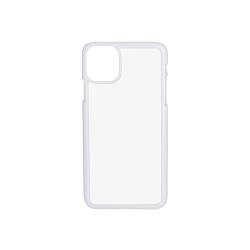 Szublimálható iPhone 11 Pro Max műanyg tok - fehér