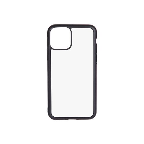 Szublimálható iPhone 11 Pro gumi tok - fekete