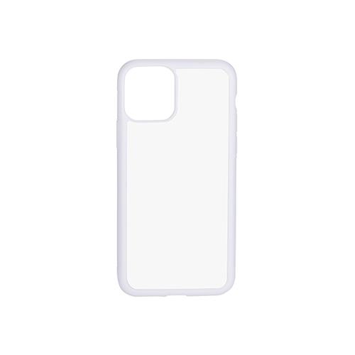 Szublimálható iPhone 11 Pro gumi tok - fehér