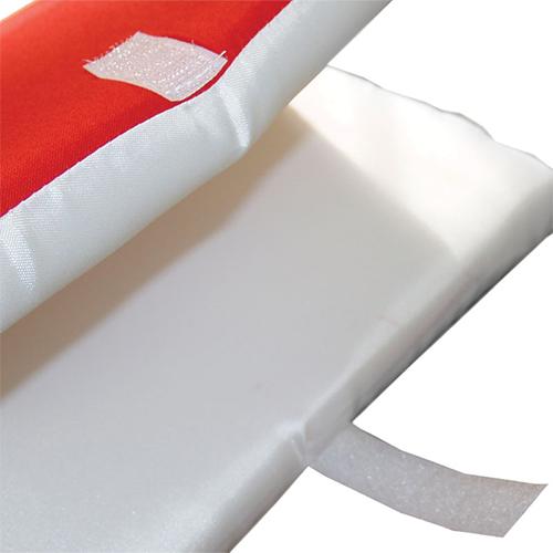 Szublimálható Két-színű ülés huzat - piros