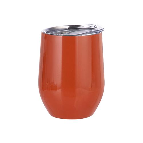 Szublimálható 360 ml forralt bor bögre - narancssárga