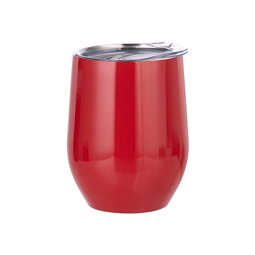 Szublimálható 360 ml forralt bor bögre - piros