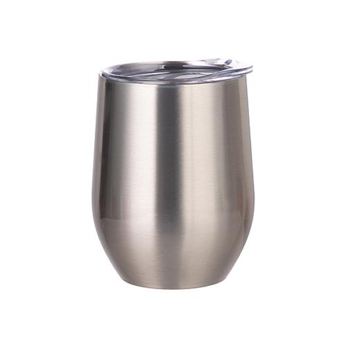 Szublimálható 360 ml forralt bor bögre - ezüst