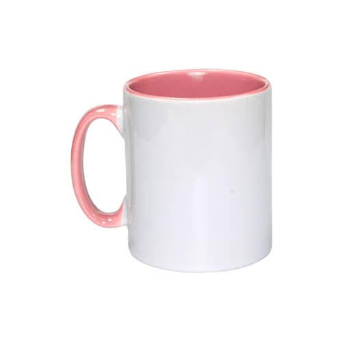 Szublimálható 300 ml-es Funny bögre, rózsaszín