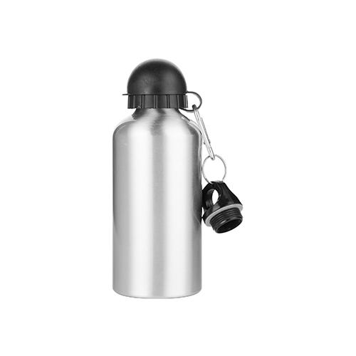 Szublimálható 500 ml Bidon palack két fedéllel - ezüst