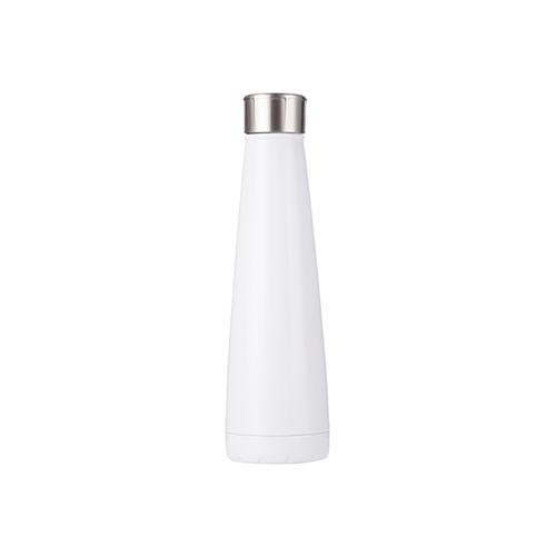 Szublimálható Bidon 420 ml piramis alakú ital palack - fehér