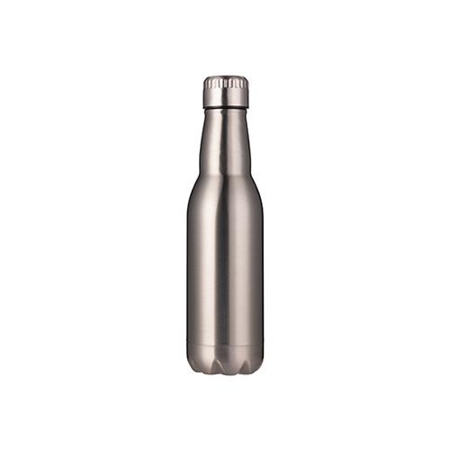 Szublimálható 500 ml fém kulacs - ezüst