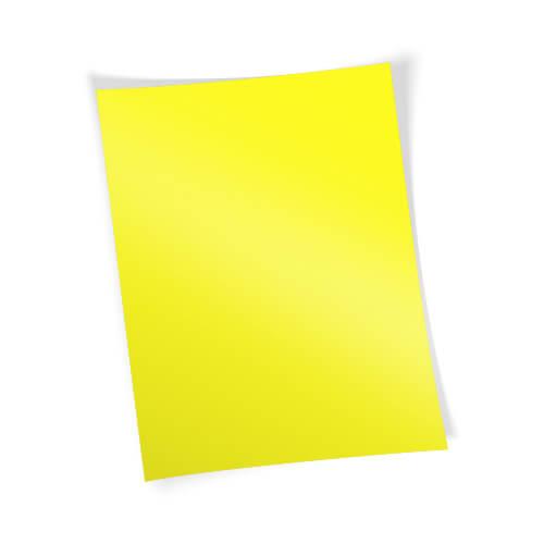 Forever Flex-Soft transzferpapír - A papír - A3-as Neon sárga