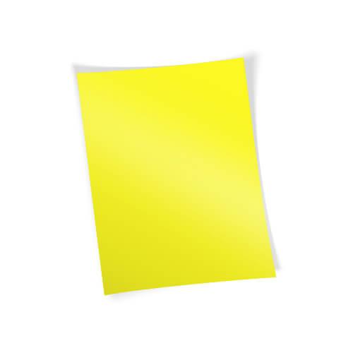 Forever Flex-Soft transzferpapír - A papír - A4-es Neon citromsárga