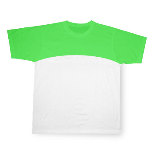 XXL-es, világoszöld, szublimálható Cotton-Touch sport póló