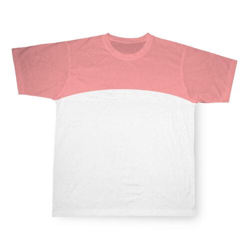 M-es, rózsaszín, szublimálható Cotton-Touch sport póló